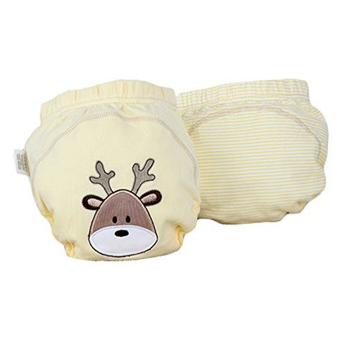 Lovely Deer Baby Elastic Cloth Diaper Cover (M, 9-11KG)