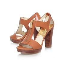 Michael Kors Berkley Sandal Orange Womens Shoes Size 6M NEW IN BOX - $62.87