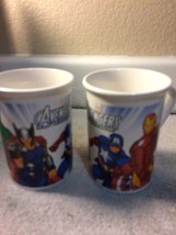 (2)  AVENGERS COFFEE MUGS / CUPS--2013 MARVEL------FREE SHIP--VGC - $17.19