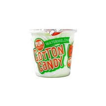 Product Of Fun Sweets, Cotton Candy Watermelon - Cup, Count 1 - Sugar Ca... - $11.52