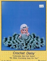 """Daisy Crochet 13.5 """" Bed Doll Td Creations PATTERN/INSTRUCTIONS/NEW Leaflet - $4.47"""