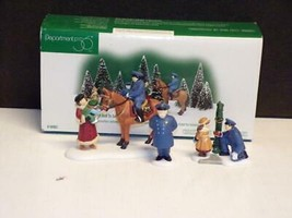""" TO PROTECT AND TO SERVE"" (Set of 3) DEPARTMENT 56 (CIC) NEW IN BOX - $24.75"