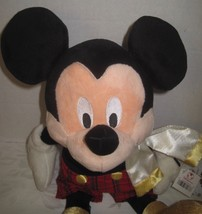 "Disney Store Dressed Mickey Mouse Christmas Stuffed Plush Toy 16"" NWT NEW - $38.61"