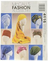 McCall's Patterns M4116 Misses' Turban, Headwrap and Caps, All Sizes - $14.21