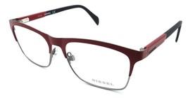 Diesel Rx Eyeglasses Frames DL5133 066 55-16-145 Matte Red / Palladium /... - $50.96
