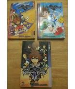 Disney Books Kids Kingdom Hearts Lot of 3 Graphic Anime PB Novels Shiro ... - $14.84