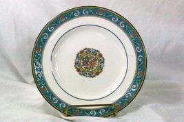 Wedgwood 1980 Runnymede Turquoise Salad Plate W9456 - $27.08
