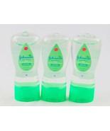 Johnson's Aloe & Vitamin E Oil Gel  6.5 fl oz 3 Bottles - $12.99