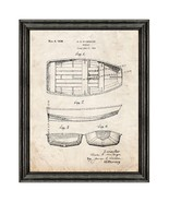 Rowboat Patent Print Old Look with Black Wood Frame - $24.95 - $109.95