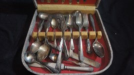 Antique Silverware Set - Silverplate by Crown, Community and Others - $60.78