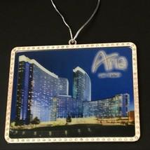 Aria Hotel Casino Las Vegas Christmas Ornament The Aria Souvenir Collect... - $40.96