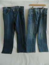 Lot of 2 Hilfiger Relaxed Freedom Blue Jeans Size 34 X 30 - $34.99