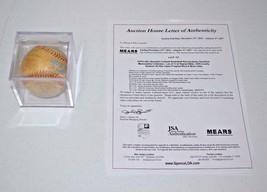 SIGNED 80'S MILWAUKEE BREWERS MLB BALL JSA ROLLIE MOLITOR UECKER YOUNT S... - $79.19