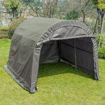 10x10x8 FT Carport Storage Shed Tent Auto Shelter Car Garage Steel Frame... - $249.99