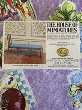 Dollhouse House of Miniatures Chippendale Day Bed Circa 1750 40043 New Sealed - $22.99