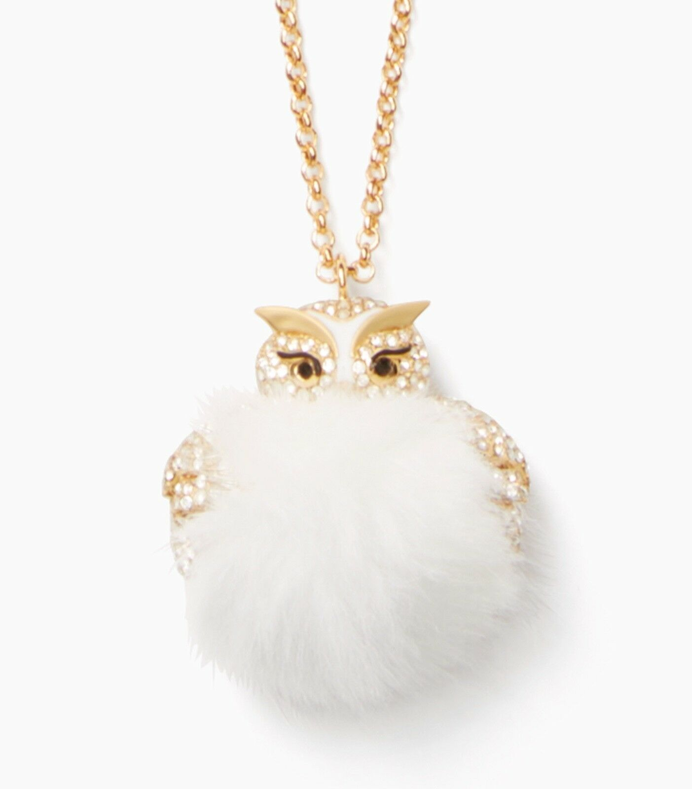 Primary image for Kate Spade New York Necklace Star Bright Owl Pendant NEW
