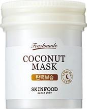 SKIN FOOD Freshmade Coconut Mask 3.04 fl.oz. 90ml - Coconut Milk Hydrati... - $15.25