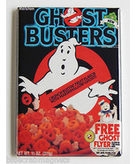 Ghostbusters Cereal Box FRIDGE MAGNET (2.5 x 3.5 inches) movie slimer - £5.20 GBP