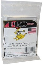1x Pro Mold 10 Count Baseball Trading Card Boxes / Super Thick Snaptites... - $3.94