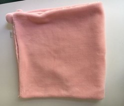 Carter's Child of Mine Pink Security Baby Plush Blanket Satin Lined with... - $38.76 CAD