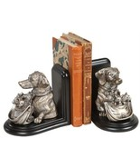 Bookends Bookend EQUESTRIAN Traditional Antique Dog with - $239.00