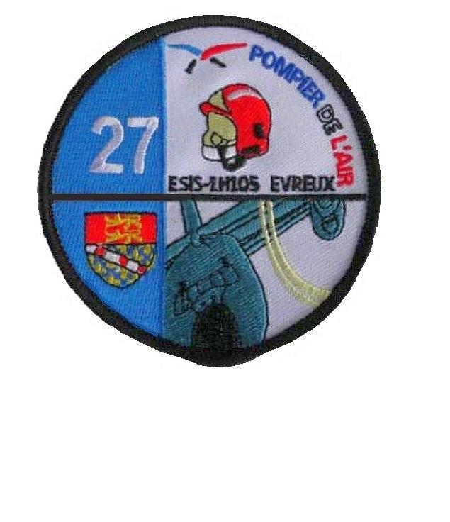 X 27 service d incendie french hot shot wildland air attack evreux fire crew 3.75 x 3.75 in 9.99