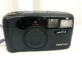 Pentax IQ Zoom 60X 35mm Film Photography Compact Camera - $23.75