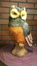 "Husk/Straw Owl - 13"" Tall - Perfect for Fall NWT The Bloom Room - Tall - $35.85"