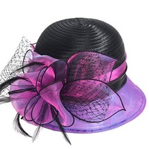 Sweet Cute Cloche Oaks Church Dress Bowler Derby Wedding Hat Party S606-... - $21.88