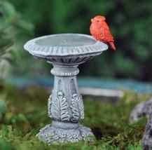 Fairy Garden Cardinal Birdbath - €12,83 EUR