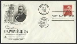 #1045 12c Benjamin Harrison, Art Craft-Addressed FDC **ANY 4=FREE SHIPPI... - $1.00