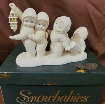 Dept 56 Snowbabies Snowbaby 1999 EVEN A SMALL LIGHT SHINES IN THE DARKNE... - $19.95