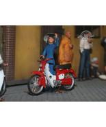 South Vietnam Saigon Civilian girl & Honda Cub Vietnam war 1:35 Pro Buil... - $163.35