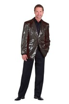 Deluxe Sequinned Showman Jacket - Black - $63.38