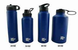 Double Wall Vacuum Insulated Stainless Sport Water Bottle Thermo Travel ... - $562,49 MXN
