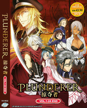PLUNDERER COMPLETE TV SERIES VOL.1-24 END ENGLISH DUB REG ALL Ship From USA
