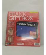 Prank Gift Box - 12,000 Piece Jigsaw Puzzle - Fake Gag Funny Parody Joke  - $9.99