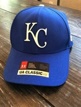 Under Armour Kansas City Royals Royal/Gray MLB Driver Cap 2.0 Adjustable Hat - $24.50