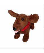 "Build-a-Bear Small 7"" Dachshund Weiner Dog Plush Stuffed Animal BABW BAB - $13.95"