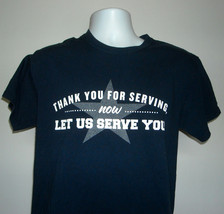 Applebees Restaurant Thank You For Serving Now Let Us Serve You T Shirt ... - $22.72