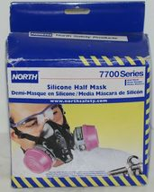 North Safety Products 770030L Silicone Half Mask Large Cartridges Not Included image 3