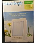 Nature Bright SunTouch Plus Light & Ion Therapy 10,000 LUX Bright Light ... - $29.69