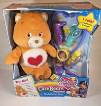 Care Bears 2005 Tenderheart Smart Check Up Orange Plush Heart Preschool  - $149.59