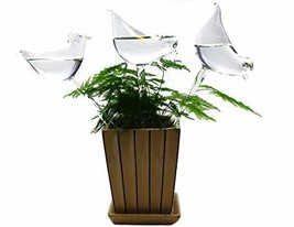 BOLUTEE 3 Pack Plant Waterer Self Watering System,Bird Shape Hand Blown ... - $16.07