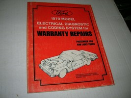 Ford 1979 Model Electrical Diagnostic and Coding System for Warranty Rep... - $9.89