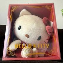 Hello Kitty BIG Mohair Plush Doll 340 Limited Serial Uumber 2008  Sanrio JP F/S - $261.65