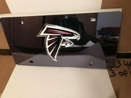 NFL Atlanta Falcons Laser License Plate Tag - Black - $29.39