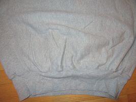 5W/GRAY CHAMPION REVERSE WEAVE CREW NECK SWEATSHIRT/RARE/LARGE/FITTED WAIST! image 5