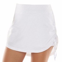 Chaps by Ralph Lauren Misses L Large White French Terry Skort Scooter Shorts L - $39.99