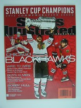 Sports Illustrated 2013 Commemorative Stanley Cup Champion Chicago Black... - $19.69